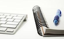 keyboard notebook